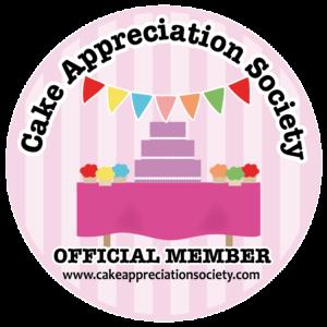 Cake Appreciation Society Official Member Logo
