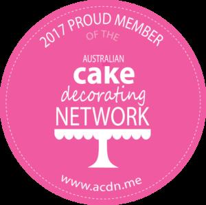 2017 Member of the Australian Cake Decorating Network