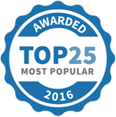 PartiesAndCelebrations Top 25 Most Popular 2016