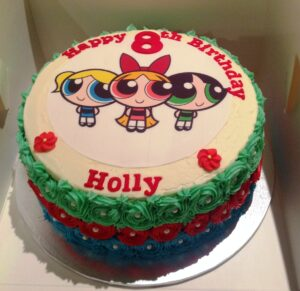 Power Puff Girls Birthday Cake
