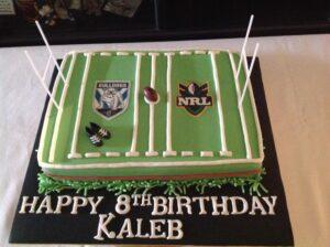 NRL Field Birthday Cake