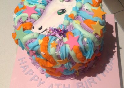 Unicorn Girls Birthday Cake