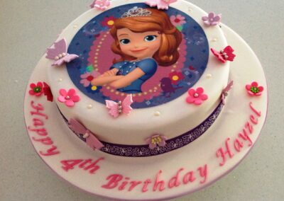 Princess Girls Birthday Cake