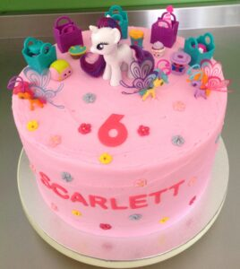 Pink My Little Pony Birthday Cake