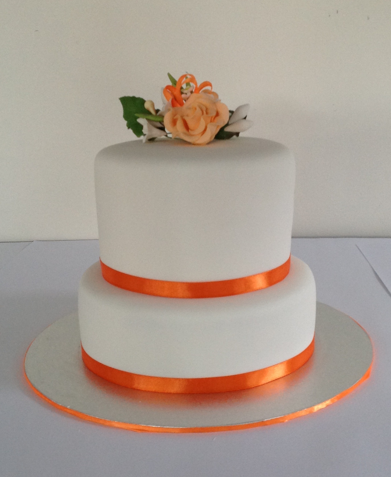 Two Teir Wedding Cake