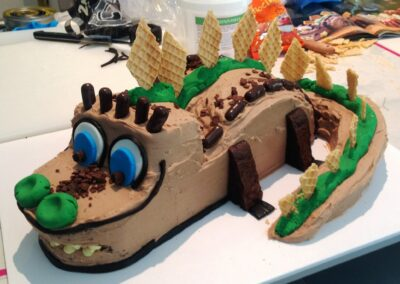 Crocodile Birthday Cake