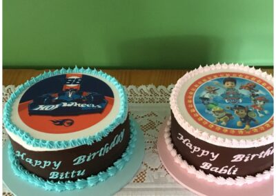 Twins Paw Patrol Birthday Cakes
