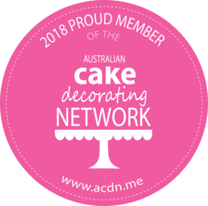 2018 Member of the Australian Cake Decorating Network
