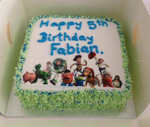 Basic Toy Story Birthday Cake